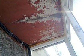 Что делать, если протекает балкон