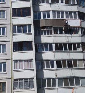 Утепление балкона в Минске по ул. Городецкая