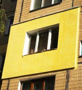 Наружное утепление стен, балконов и фасадов зданий