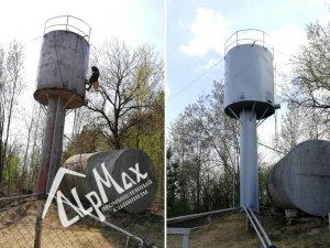 Ремонт водонапорной башни в Минской области