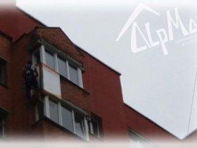 Утепление балкона в Минске по ул. Рафиева