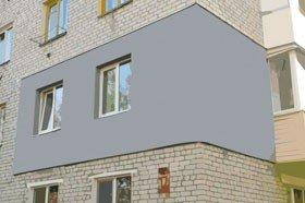 Утеплить угловую квартиру в панельном доме  — пенопластом, минватой